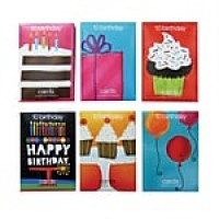 S&S® Value Birthday Greeting Card, 120/Pack