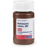 Methimazole 5 mg Tablets, 100 Count