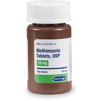 Methimazole 10 mg Tablets, 100 Count