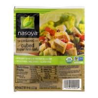 Nasoya Super Firm Tofu Cubed Organic