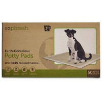 So Phresh Earth-Conscious Potty Pads, 50 CT