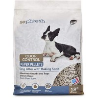 So Phresh Dog Litter with Odor Control Paper, 18 LB