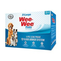 Wee-Wee XL Potty Pads, 75 Count