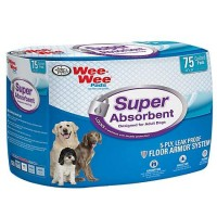 Wee-Wee Super Absorbent, Pack of 75 pads