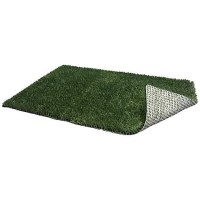 "PoochPads Indoor Dog Potty Replacement Grass, 23"" L X 15"" W X .5"" H"