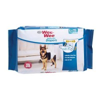 Wee-Wee Disposable Diapers, 12 Pack, Large/XL