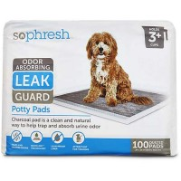 So Phresh Odor Absorbing Leak Guard Potty Pads, 100 CT