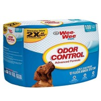 Wee-Wee Odor Control Puppy Pads, Pack of 100 pads