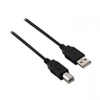 V7 16' USB 2.0 Male to Male USB Cable, Black