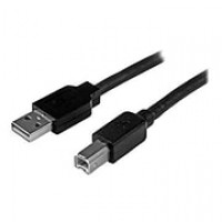 StarTech 50' USB 2.0 Male to Male Data Transfer Cable, Black