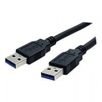 StarTech 6' Superspeed USB 3.0 Type A Male To Type A Male Cable, Black