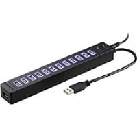 Sabrent 13-Port USB 2.0 Hub with Power Adapter