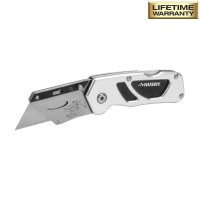 Husky Compact Folding Lock-Back Utility Knife