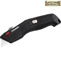 Husky Auto-Loading Retractable Utility Knife