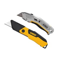 DEWALT Folding Utility Knife and Retractable Utility Knife Set (2-Piece)