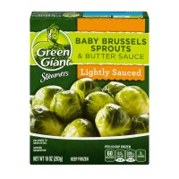 Green Giant Steamers Lightly Sauced Baby Brussels Sprouts & Butter Sauce