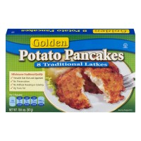 Golden Potato Pancakes Traditional Latke All Natural - 8 ct Frozen