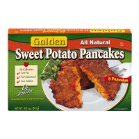 Golden All Natural Sweet Potato Pancakes - 8 CT