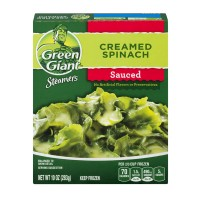 Green Giant Steamers Sauced Creamed Spinach