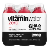 Glaceau Vitaminwater Zero Water Beverage Acai Blueberry Pomegranate - 6 pk