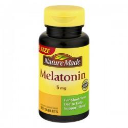 Nature Made Melatonin 5 mg Dietary Supplement Tablets