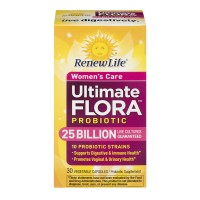 Renew Life Ultimate Flora Women's Care Probiotic Vegetable Capsules