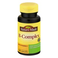 Nature Made B-Complex with Vitamin C 300 mg Dietary Supplement Caplets