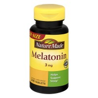 Nature Made Melatonin 3 mg Dietary Supplement Tablets Value Size