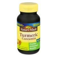 Nature Made Turmeric Curcumin Dietary Supplement Capsules