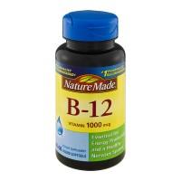 Nature Made Vitamin B-12 1000 mcg Dietary Supplement Liquid Softgels