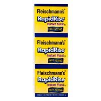 Fleischmann's RapidRise Instant Yeast Fast Acting - 3 ct