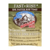 Hodgson Mill Yeast Active Dry Fast-Rise All Natural