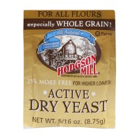 Hodgson Mill Yeast Active Dry All Natural