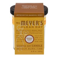 Mrs. Meyer's Clean Day Soy Candle Orange Clove