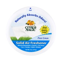 Citrus Magic Air Freshener Odor Absorbing Solid Pure Linen