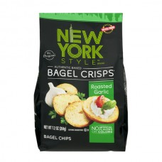 New York Style Original Bagel Crisps Roasted Garlic