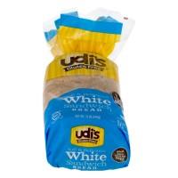 Udi's Gluten Free Delicious Soft White Sandwich Bread Frozen