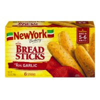 New York The Original Garlic Breadsticks Frozen