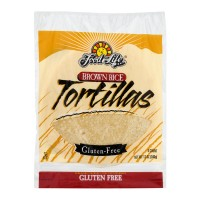 Food For Life Tortillas Brown Rice Wheat & Gluten Free Frozen - 6 ct