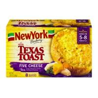 New York Texas Toast The Original Five Cheese Frozen - 8 ct