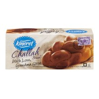 Kineret Ready To Bake Bread Challah Kosher Frozen