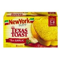 New York Texas Toast Garlic Frozen - 8 ct