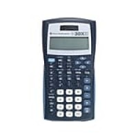 Texas Instruments TI-30XIIS 10-Digit Scientific Calculator, Black