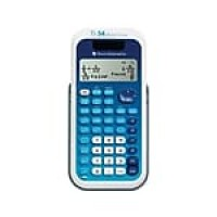 Texas Instruments MultiView TI-34 16 Digit Scientific Calculator, Blue/White