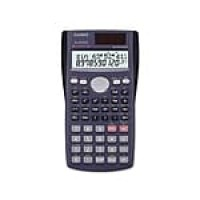 Casio FX-300MS Plus 10-Digit Scientific Calculator, Blue