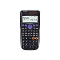 Casio FX-300ES Plus 16-Digit Scientific Calculator, Black