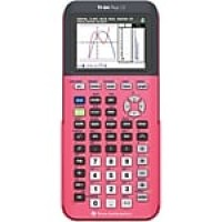 Texas Instruments TI-84 Plus CE Graphing Calculator, Count on Coral