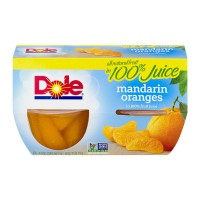 Dole Fruit Bowls Mandarin Oranges in 100% Juice - 4 ct