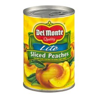 Del Monte Peaches Yellow Cling Sliced in Extra Lite Syrup