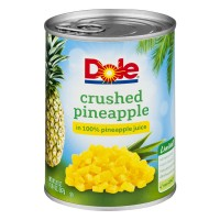 Dole Pineapple Crushed in 100% Pineapple Juice